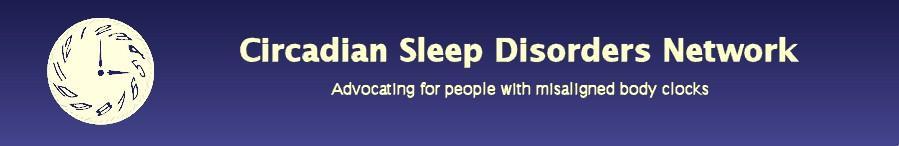 Circadian Sleep Disorders Network header