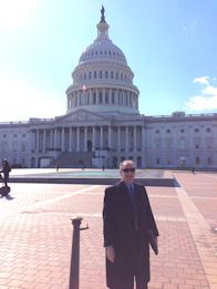 Peter Mansbach at the U.S. Capitol